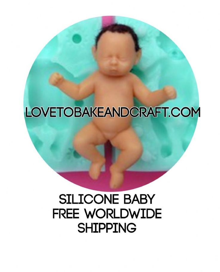 Baby mold baby mould double sided mold 3D baby mold You can make your very own OOAK baby from my molds just alter the position expression and