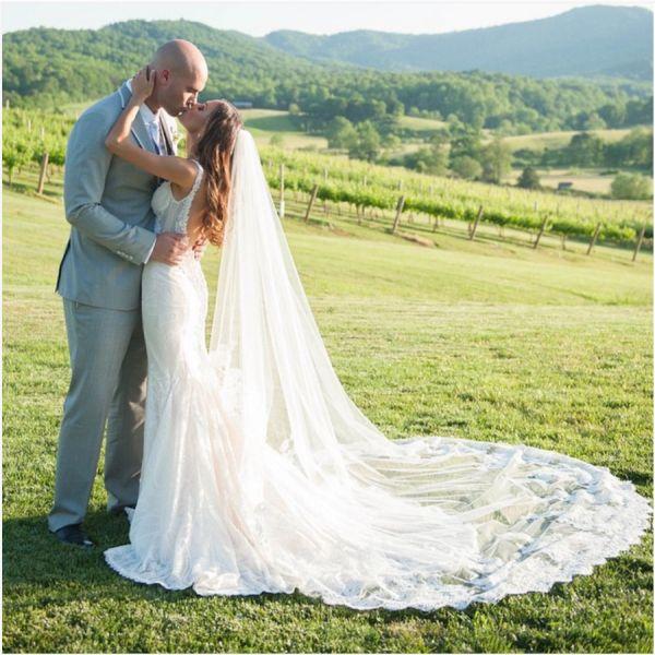 Jana Kramer + Michael Caussin: http://www.stylemepretty.com/2015/12/10/best-biggest-celebrity-wedding-2015/