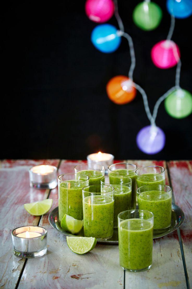 Raikas meloni-vihersmoothie | K-ruoka #smoothie #aamupala #välipala