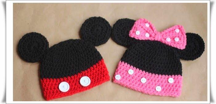 Mickey Mouse Şeklinde Bere Modeli