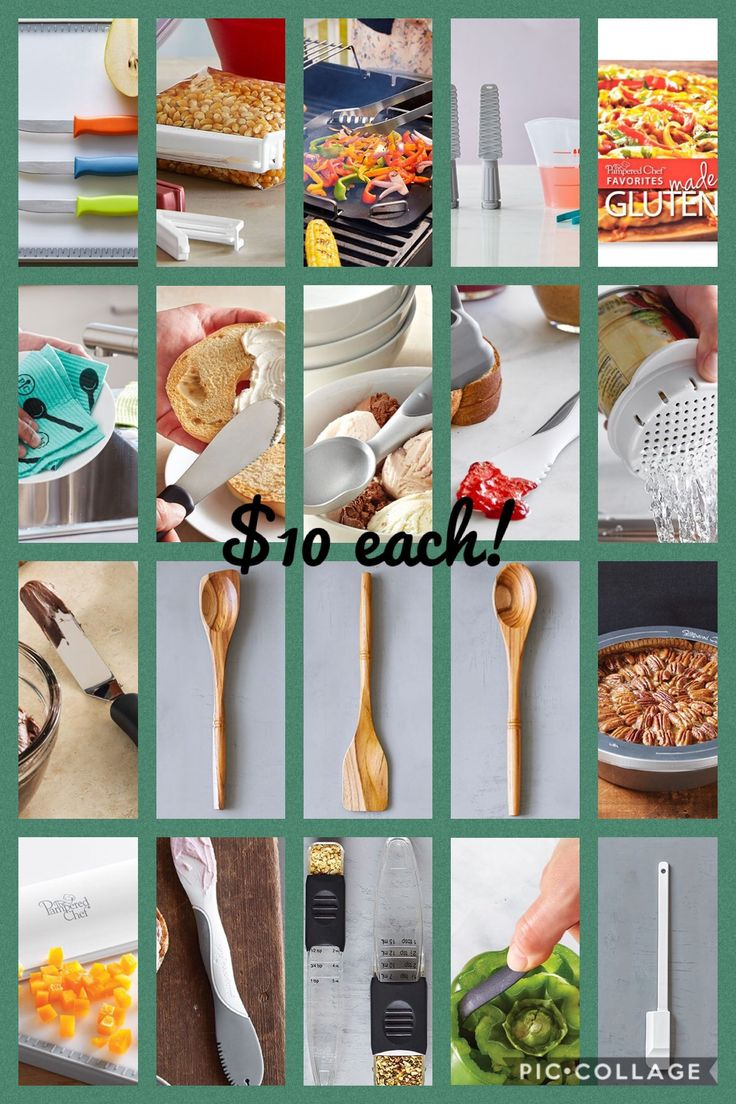 Did you know pampered chef has more than 100 items priced
