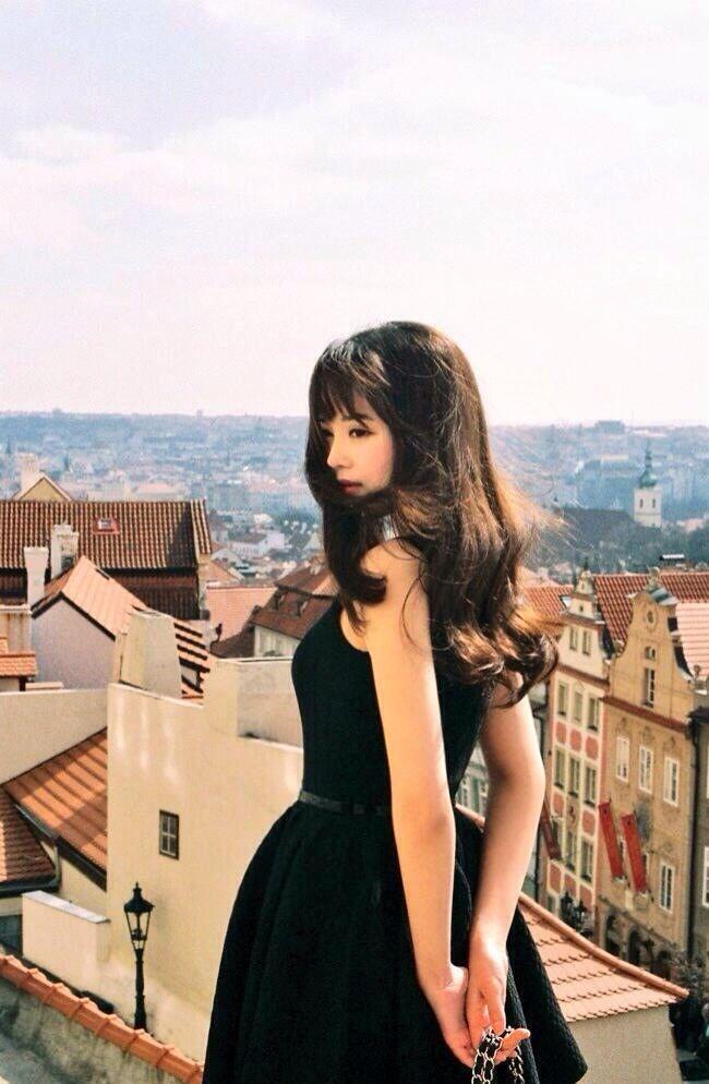 Beautiful Japanese Girl 黒髪とヴェニス