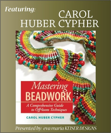 """Mastering Beadwork"" by Carol Huber CypherOffloom Techniques, Comprehension Guide, Off Loom Techniques, Comprehen Guide, Guide To, Master Beadwork, Carol Huber, Carol Cypher, Beads Book"
