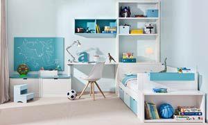 Orden e imaginación a raudales para el cuarto de los niños