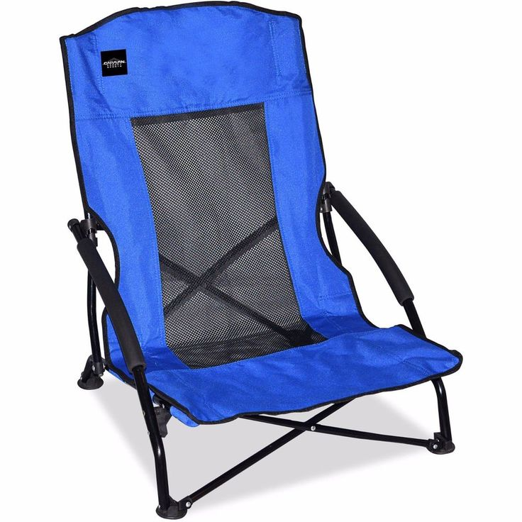 Outdoor Patio Camping Chair Beach Folding Lounge Picnic Pool Portable Seat Blue #BeachChairs