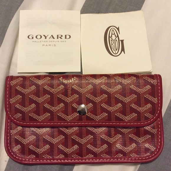 Selling this Goyard Wallet in my Poshmark closet! My username is: kmarcellus. #shopmycloset #poshmark #fashion #shopping #style #forsale #Goyard #Handbags