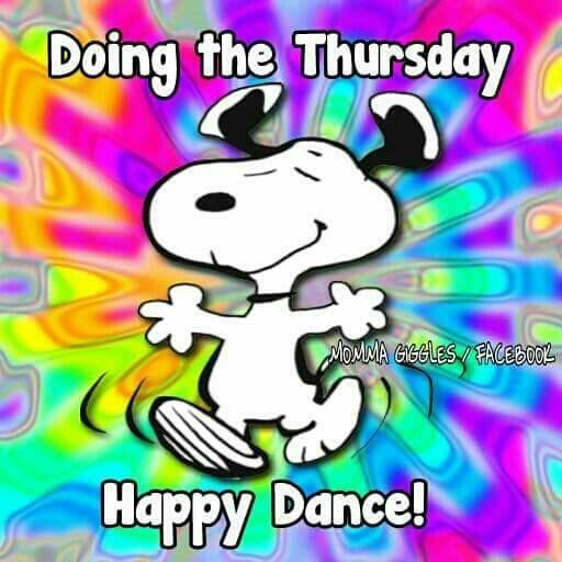 Doing The Thursday Happy Dance snoopy