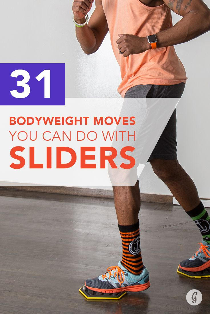 31 Ways You Can Use Sliders to Get a Full-Body Workout #fitness #workout #bodyweight http://greatist.com/move/sliders-workout