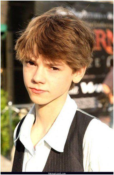13 year boys haircut model