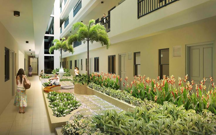 Atrium Style Garden