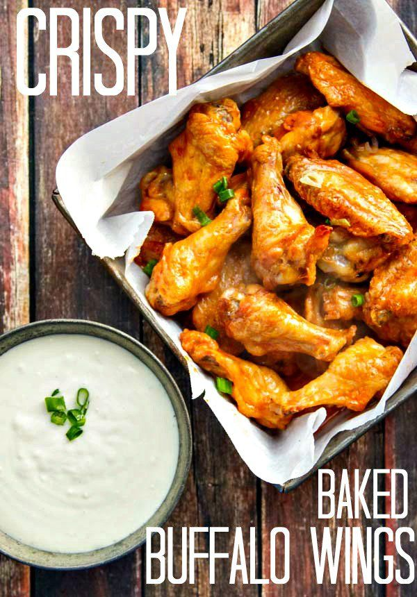 Why fry when you can have Baked Buffalo Wings that are just as crispy with tender, juicy meat, too? A 2-ingredient sauce makes it even better!