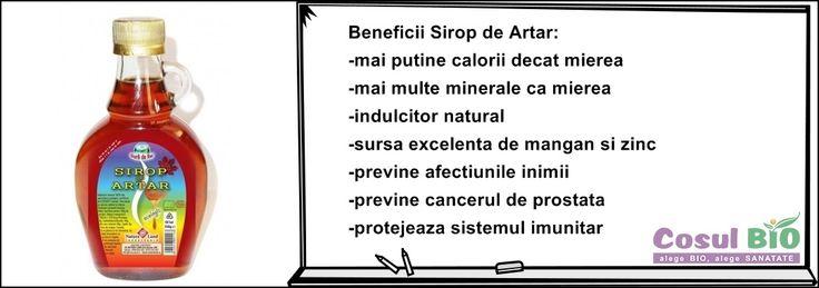 Beneficii Sirop de Artar : http://www.cosulbio.ro/cumpara/sirop-de-artar-bio-1591463