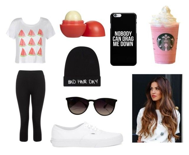 """"" by pocock on Polyvore featuring Ally Fashion, Eos, Vans, Ray-Ban, Local Heroes and Lipsy"