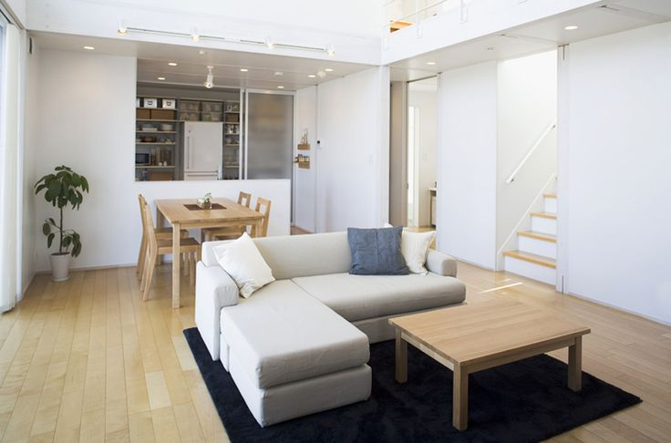 Minimalist Japanese Prefab House by MUJI - DECOmyplace - Home decorating ideas, Interior styling