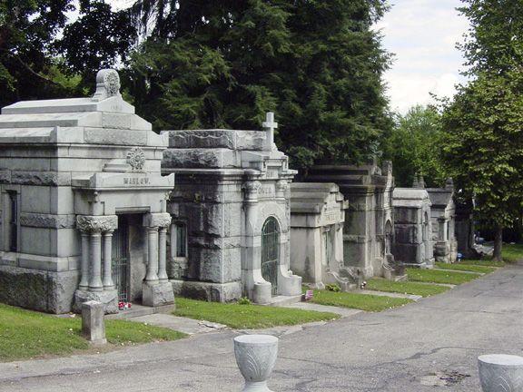 Mt. Mora Cemetery in St. Joseph. Oldest in town.
