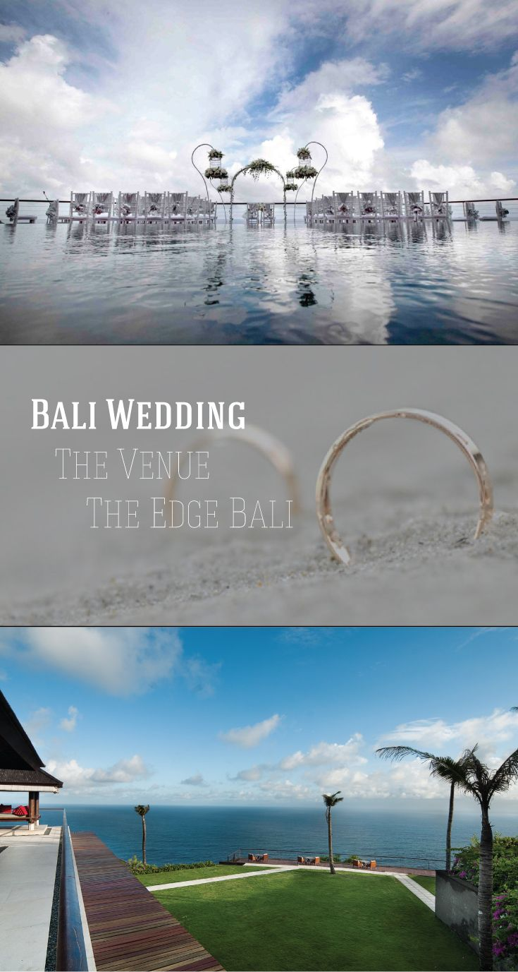 With breathtaking views of the Ocean at the pinnacle cliff of Bali, The edge is the perfect venue for your wedding in Bali, Indonesia. The wedding venues are created for intimate and graceful weddings in a sophisticated setting that offers magnificent views of the Indian Ocean