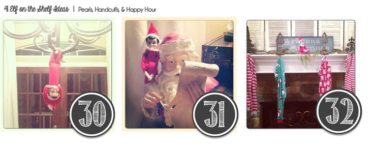 Pearls, Handcuffs, and Happy Hour: North Pole Breakfast and 45 Elf Ideas!