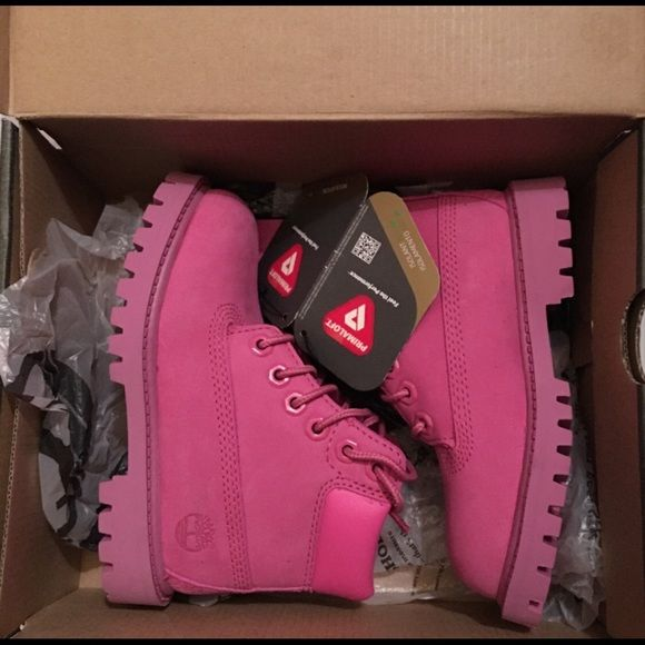 Girl Toddler's Timberlands/ Petits Toddler Timberlands Size 9 , Pink New Timberland Shoes Winter & Rain Boots
