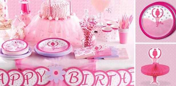 Festa di compleanno tema ballerine e danza