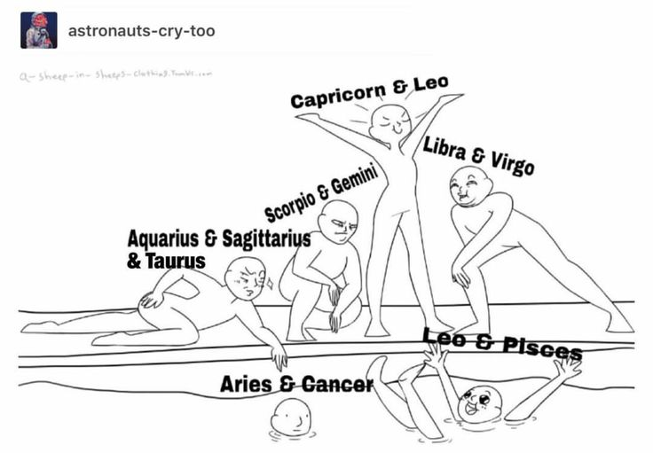 Aquariana com descendente em Capricórnio