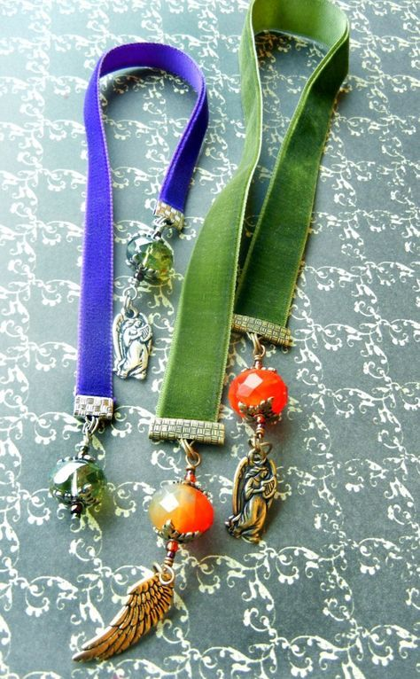 Twelve Days of Christmas Jewelry Designs: 10 – Velvet Bookmarks « Rings and Things