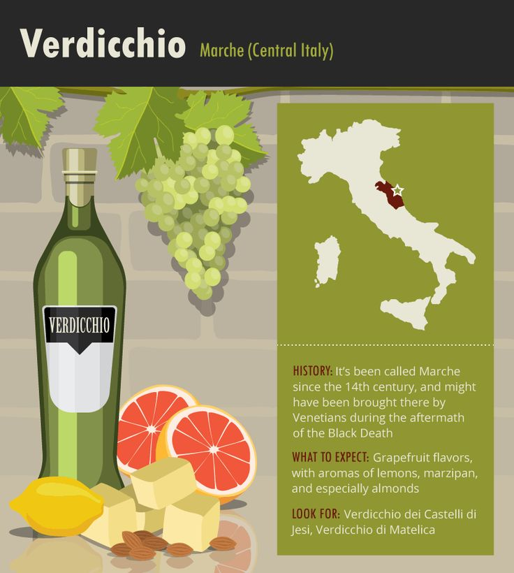 Verdicchio Grapes #Wine #Italy #Wineeducation