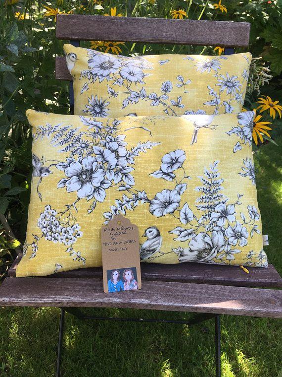 Two Ugly Sisters  Handmade Bird Cushion Bird Pillow Bird