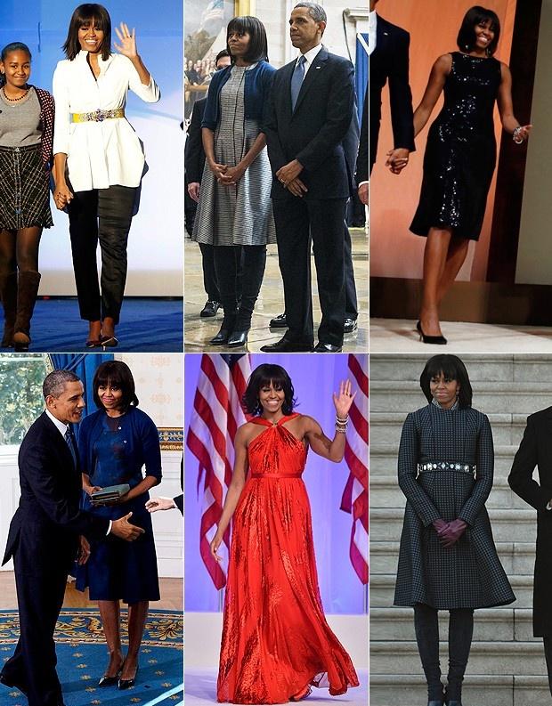 Looks da cerimônia de posse do presidente Obama