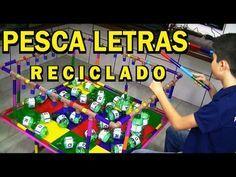 ALFABETO MÓVEL RECICLADO - CONSTRUÇÃO DE PALAVRAS - YouTube