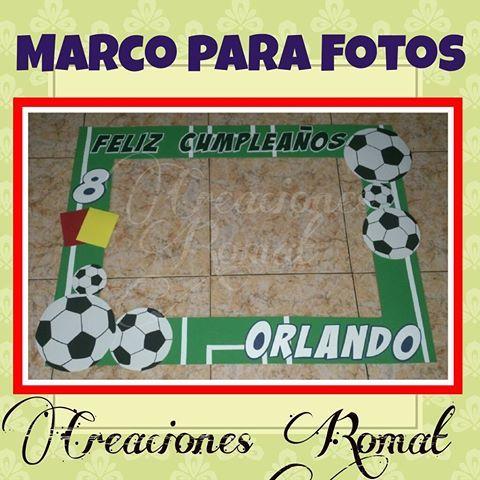 Marco para fotos  Modelo Fútbol  #creacionesromat #marcoparafotos #marcogiganteparafotos #photooftheday #photocall #photobooth #habladores #celebración #party #fiesta #fútbol #fiestadefutbol #fiestatematica #cumpleaños @publicidadmandala