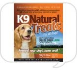 K9 Natural - natural dried dog treats, perfect dog treats for your dog!