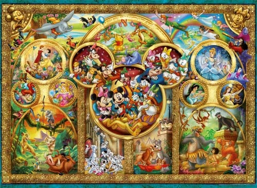 Disney Family Jigsaw Puzzle by Ravensburger  from PuzzleFolk