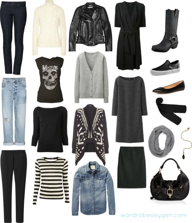 Winter Capsule Wardrobe for the Stay At Home Mom Who Loves Rock
