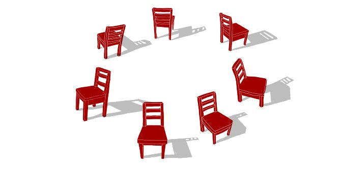 A lesson plan for Shakespeare that involves musical chairs