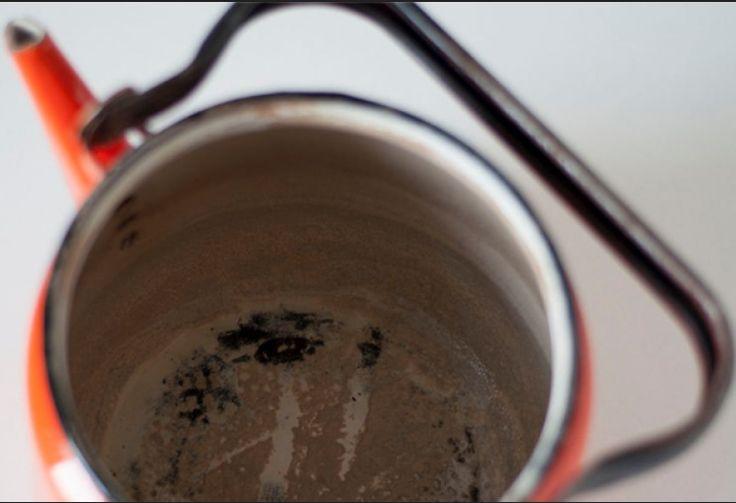 Чистка чайника