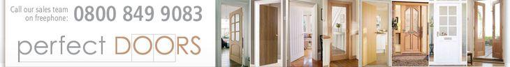 4 Panel Shaker Glazed Primed Internal Door