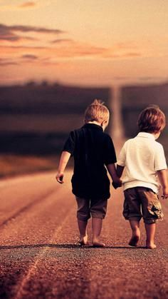 Everyone needs friends on the road of life...