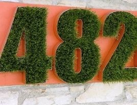 Eclectic House Numbers