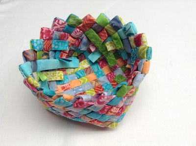 Woven Basket Tutorial from Atkinson Designs