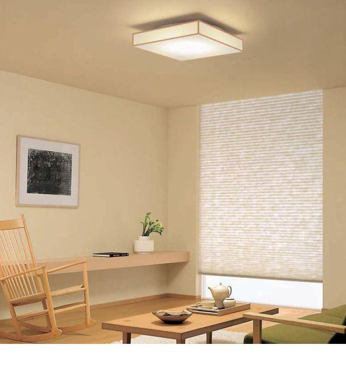LED 白木和風シーリングライト ~6畳 調光調色 リモコン   インテリア ...
