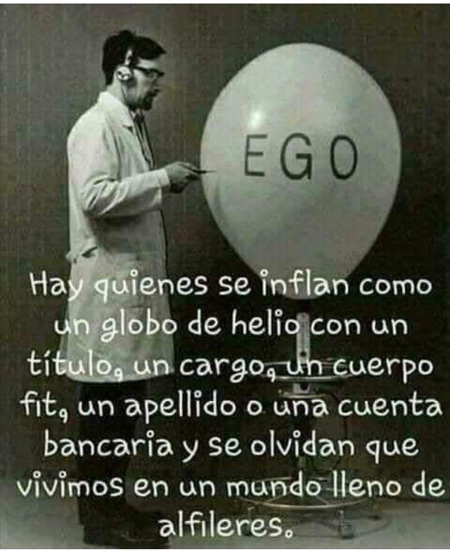Cuidado con el EGO!