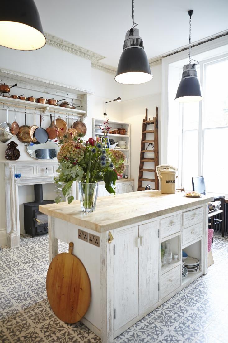 202 best Inspiración - Cocinas images on Pinterest | Cocinas, Casas ...
