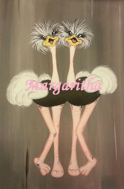 Bekijk dit items in mijn Etsy shop https://www.etsy.com/nl/listing/252841619/ostriches-black-and-white-full-body-e