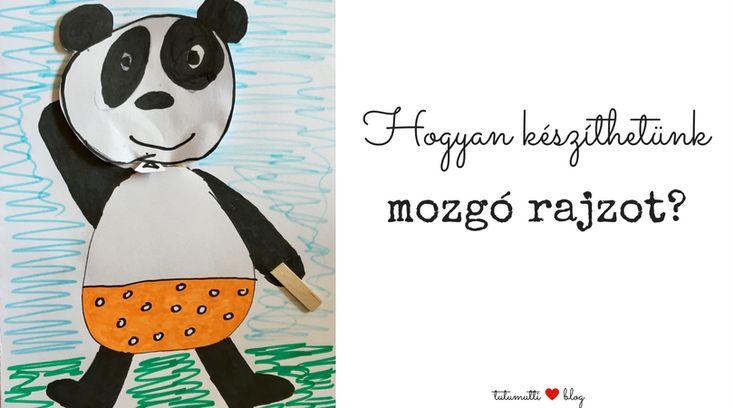 Tutumutti - Gyerekkel kreatívan blog / www.tutumutti.blog.hu / Egyszerű és kreatív mozgó rajz / Simple and Creative Moving Drawing / DIY and Crafts