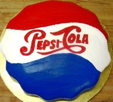 Pepsi cake from Mueller's Bakery!