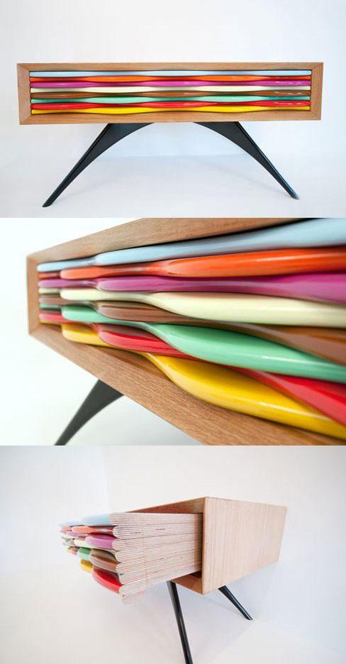 Amazing Colorful Furniture Design