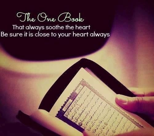 When your heart feels connected with your recitation. When you listen with intent. Then you can benefit from #Quran: