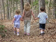 kids walking http://thesurvivalmom.com/32-survival-skills-your-child-should-know-and-be-able-to-do-asap/