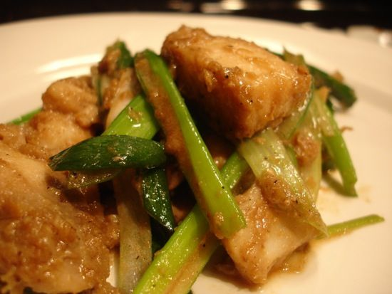 Halibut Stir Fry