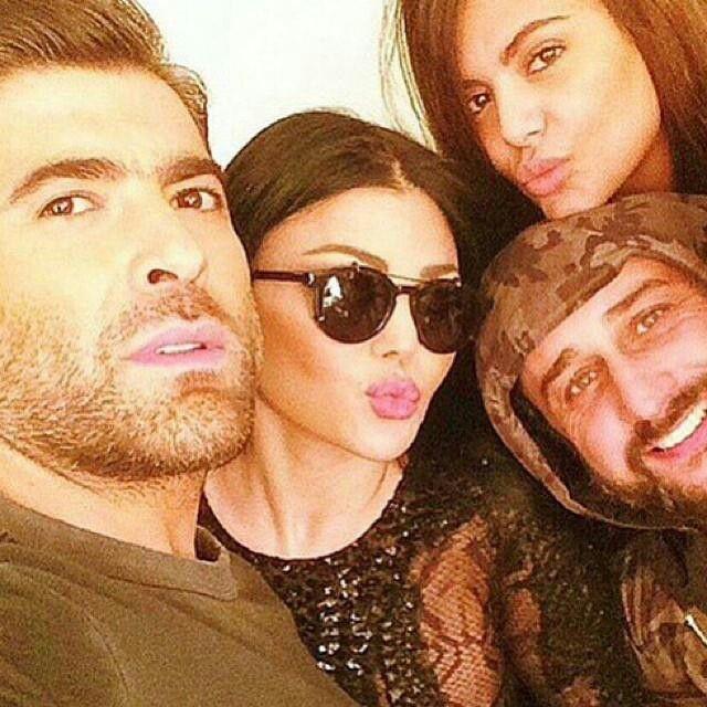 Haifa wehbe & wael